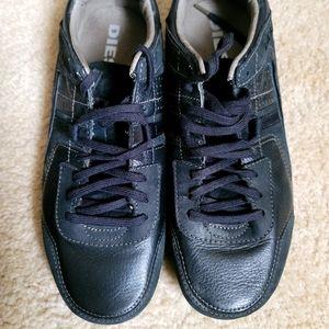 Diesel Black lace up shoes